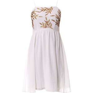 Vero Moda Robe fluide - blanc