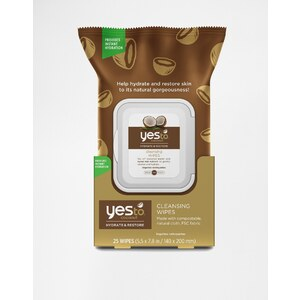 Yes To Coconut - Lingettes nettoyantes x 25 - Clair