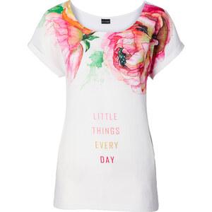BODYFLIRT Shirt in weiß für Damen von bonprix