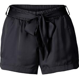 RAINBOW Satin-Shorts in schwarz für Damen von bonprix