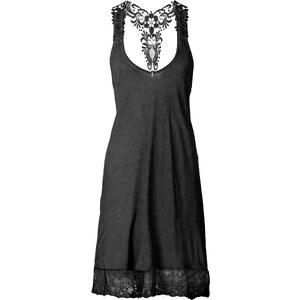 RAINBOW Kleid ohne Ärmel in schwarz von bonprix
