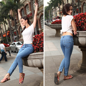 Lesara Damen-Mom-Jeans - S