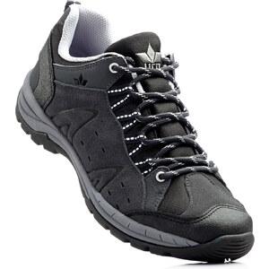 Chaussures de marche en cuir gris chaussures & accessoires - bonprix