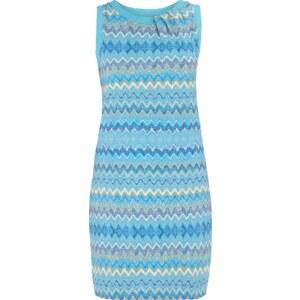 Montego Kleid mit Drapierung am Ausschnitt