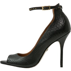 Buffalo High Heel Peeptoe black