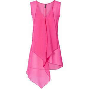 BODYFLIRT boutique Bluse ohne Ärmel in pink von bonprix