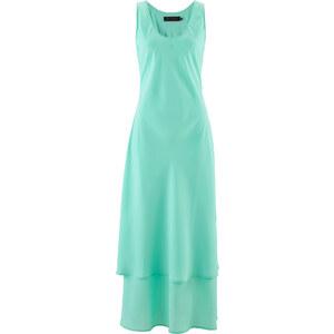 bpc selection Kleid ohne Ärmel in grün (Rundhals) von bonprix