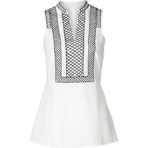 BODYFLIRT Top-blouse blanc femme - bonprix