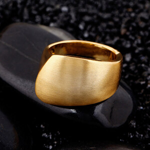 Lesara Damen-Ring - Gold - 55