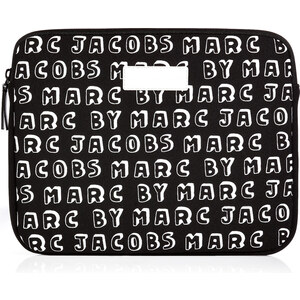 Marc by Marc Jacobs Tablet Case with Logo Print