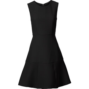 BODYFLIRT Kleid in schwarz (Rundhals) von bonprix