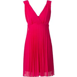 BODYFLIRT Robe plissée rose sans manches femme - bonprix