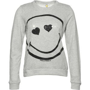 Smiley World Smiley World - Sweatshirt - grau