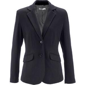 bpc bonprix collection Blazer langarm in schwarz (V-Ausschnitt) für Damen von bonprix