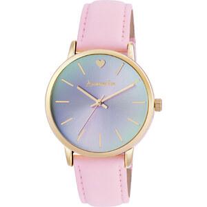 Accessorize Patricia Uhr mit rosa Stoffarmband