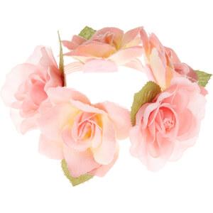 Accessorize Rosa Duttnetz mit Blumenapplikation