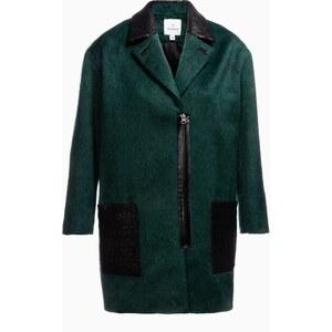 Lahalle Manteau 50's bimatière et bicolore