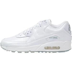 Nike Sportswear AIR MAX 90 PREMIUM Sneaker white /metallic silver