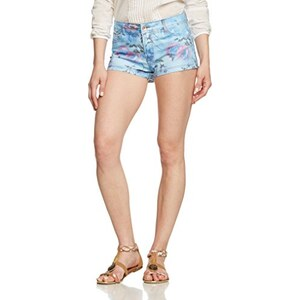VERO MODA Damen Short Vmpretty Nw Flower-Pc7-15