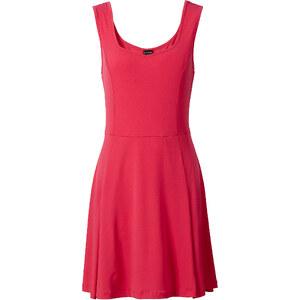 BODYFLIRT Kleid ohne Ärmel in pink von bonprix