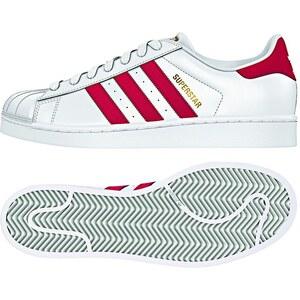 Adidas Originals Adidas Sneaker SUPERSTAR FOUNDATION B27139 Weiß Rot Schuhgröße 40 2/3