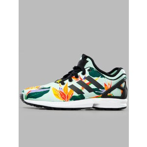 adidas Originals ZX Flux NPS Blush Green Core Black Yellow