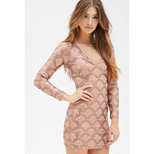 FOREVER21 Figurbetontes Kleid mit Pailletten
