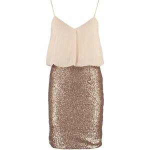 Miss Parisienne Freizeitkleid gold