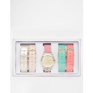 ALDO - Larillan - Uhr mit verschiedenen farbigen Armbändern - Bunt