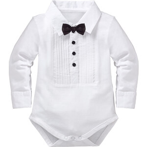 bpc bonprix collection Body manches longues blanc enfant - bonprix