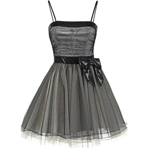 Luxuar Fashion Cocktailkleid / festliches Kleid black/nude