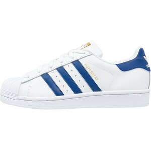 adidas Originals SUPERSTAR FOUNDATION Sneaker low white/collegiate royal