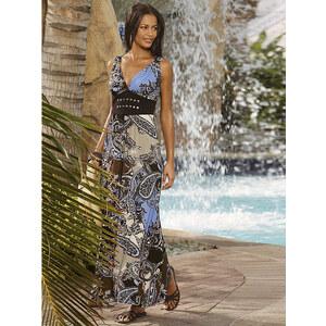 Kleid, Alba Moda, multicolor Paisleymuster, Viskose-Mix, Perfekt auf die Bademode abgestimmtes Beachkleid