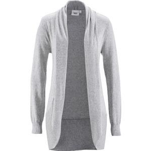 bpc bonprix collection Strickjacke, Langarm in grau für Damen von bonprix