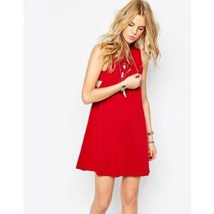 Glamorous - Kleid aus Jersey in A-Linie mit Rollkragen