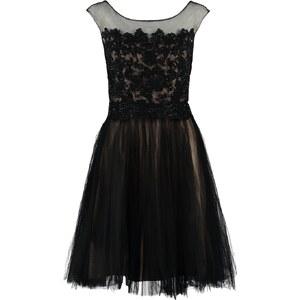 Luxuar Fashion Cocktailkleid / festliches Kleid schwarz/nude