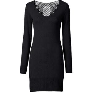 BODYFLIRT boutique Strickkleid in schwarz von bonprix