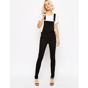 Cheap Monday - Salopette skinny - Noir