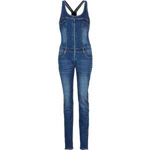 RAINBOW Combinaison en jean bleue femme - bonprix