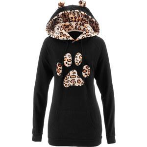 bpc bonprix collection Sweat-shirt noir manches longues femme - bonprix