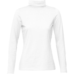 bpc bonprix collection T-shirt col roulé blanc manches longues femme - bonprix