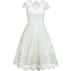 Chi Chi London Cocktailkleid / festliches Kleid white