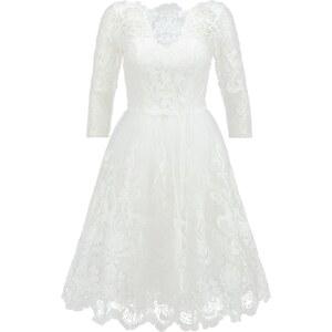 Chi Chi London Cocktailkleid / festliches Kleid white