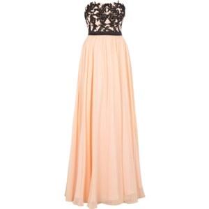 Luxuar Abendkleid im Empire-Stil mit floralen Applikationen