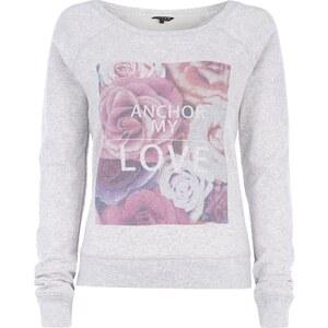 REVIEW Sweatshirt mit großem Print