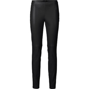 BODYFLIRT Pantalon synthétique imitation cuir noir femme - bonprix