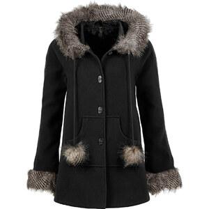 BODYFLIRT boutique Manteau noir manches longues femme - bonprix