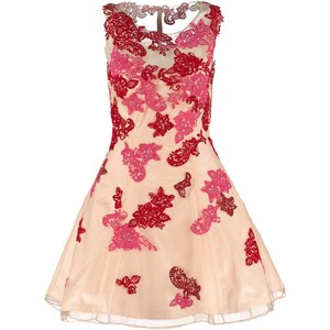 Luxuar Fashion Cocktailkleid / festliches Kleid beige