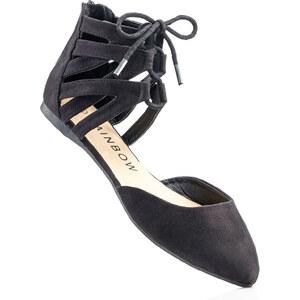 RAINBOW Les ballerines noir chaussures & accessoires - bonprix