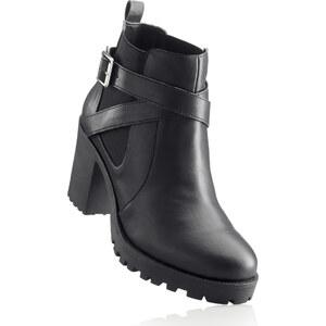 RAINBOW Bottines noir chaussures & accessoires - bonprix